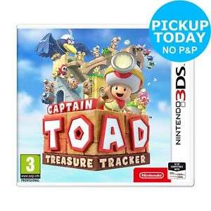 Captain Toad Treasure Tracker Nintendo 3DS Game - 3+ Years, £7.99 (Free collection) at Argos/ebay