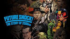 Apple TV Streaming - Future Shock, The Story of 2000AD