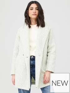 New in Double breasted relaxed coat - £23 (Free Click & Collect) @ Very