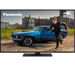 "PANASONIC TX-43GX555B 43"" Smart 4K Ultra HD HDR LED TV - £299.99 with code @ Currys"