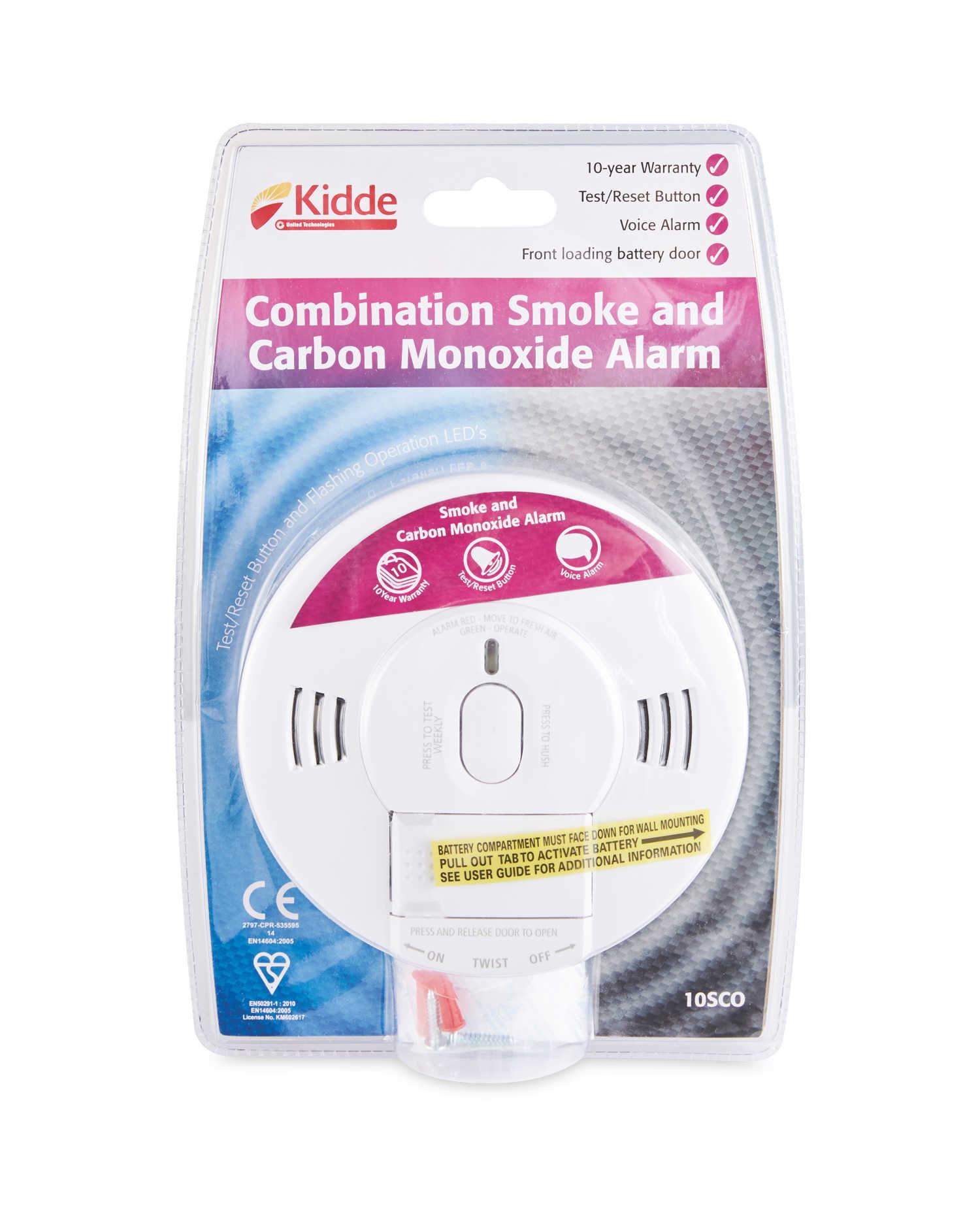 Kidde 2-in-1 Smoke & Carbon Monoxide Alarm - £15.99 @ Aldi