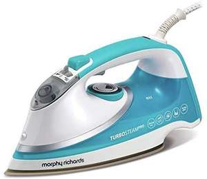 Morphy Richards 303128 Turbosteam Pro Steam Iron for £29.99 (+3 years guarantee) @ Argos