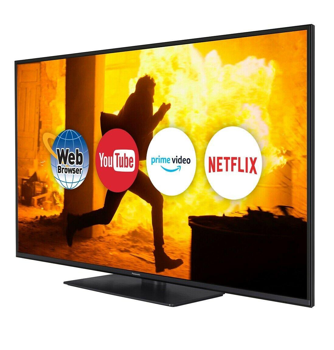Refurbished 49'' Panasonic TX-49GX550B SMART 4K Ultra HD TV £179.99 @ Panasonic ebay