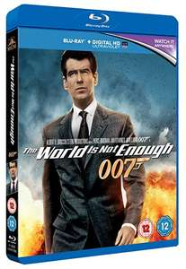 The World Is Not Enough [Blu-ray] [1999] £2.88 (Prime) / £5.87 (non Prime) @ amazon.co.uk
