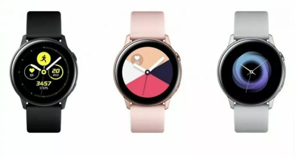 Samsung Galaxy Watch Active SM-R500 40mm Silver/Black Case Small/Large Strap Refurbished Grade B £62.99 using code @ XS Items Ebay