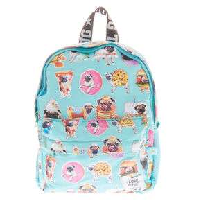 Up to 60% off Selected Bags, Doug the Pug, Smiley Face Rucksack, Plaid Sherpa all £10 with free Click & Collect From Claire's