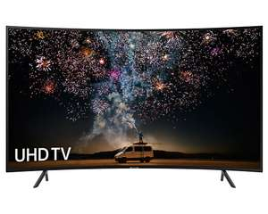 """Samsung UE49RU7300 49"""" Curved HDR Smart 4K TV for £359.10 delivered (using code) @ eBay / Crampton and Moore"""