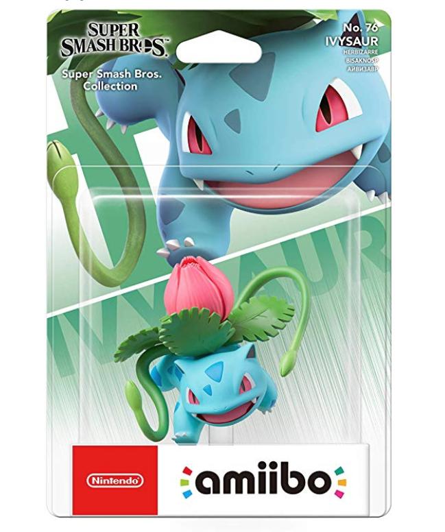 Ivysaur amiibo £10.36 prime / £14.85 non prime @ Amazon