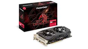 PowerColor Radeon RX 590 8GB Red Dragon Graphics Card £151.73 at CCL/ebay with code