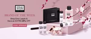 25% off Selected Beauty and cosmetics with voucher code @ Unineed