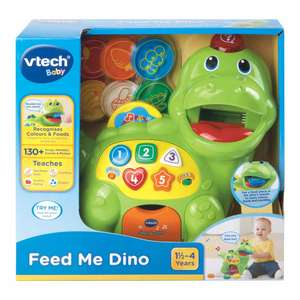 Vtech Feed Me Dino £10 @ Wilko (instore or click and collect +£2)