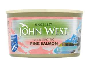 John West Wild Pacific salmon 213g 2 for £3 (or £1.99 each) @ Iceland Burton on Tren