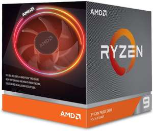 AMD Ryzen 9 3900X Processor (12C/24T, 70MB Cache, 4.6 GHz Max Boost) - £399.95 @ Amazon UK