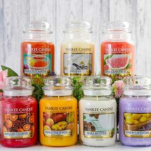 Yankee Candle Classic Signature Large Jar 623g Candle - Random Pick £10 / £9.50 For New Subscribers Using Code @ Yankee Bundles