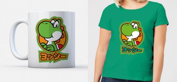 Nintendo T-Shirt and Mug for £9.99 Delivered at IWOOT