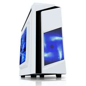 CiT F3 Mid Tower Gaming Case - White USB 3.0 £25.13 delivered @ CCLOnline / Ebay