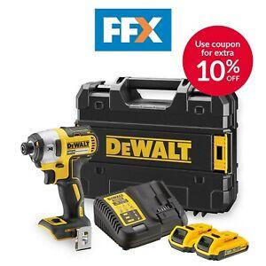 DeWalt Impact Driver Set £121.50 with code @ Ebay / FFX