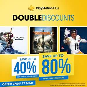 Deals @ PlayStation PSN Indonesia - Days Gone £16.04 FIFA 20 / Madden 20 £18.68 Need for Speed £3.88 Battlefront Ultimate Ed. £3.10 +MORE