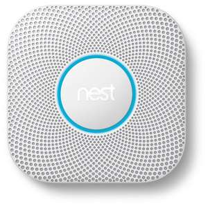 Google Nest Protect (2nd Gen) Smoke & Carbon Monoxide Alarm - Battery or Wired versions £78.99 The Electrical Showroom