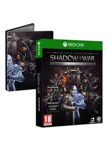 Middle-Earth Shadow of War Silver Edition - Steelbook & DLC (Xbox One / PS4) £17.39 @ base