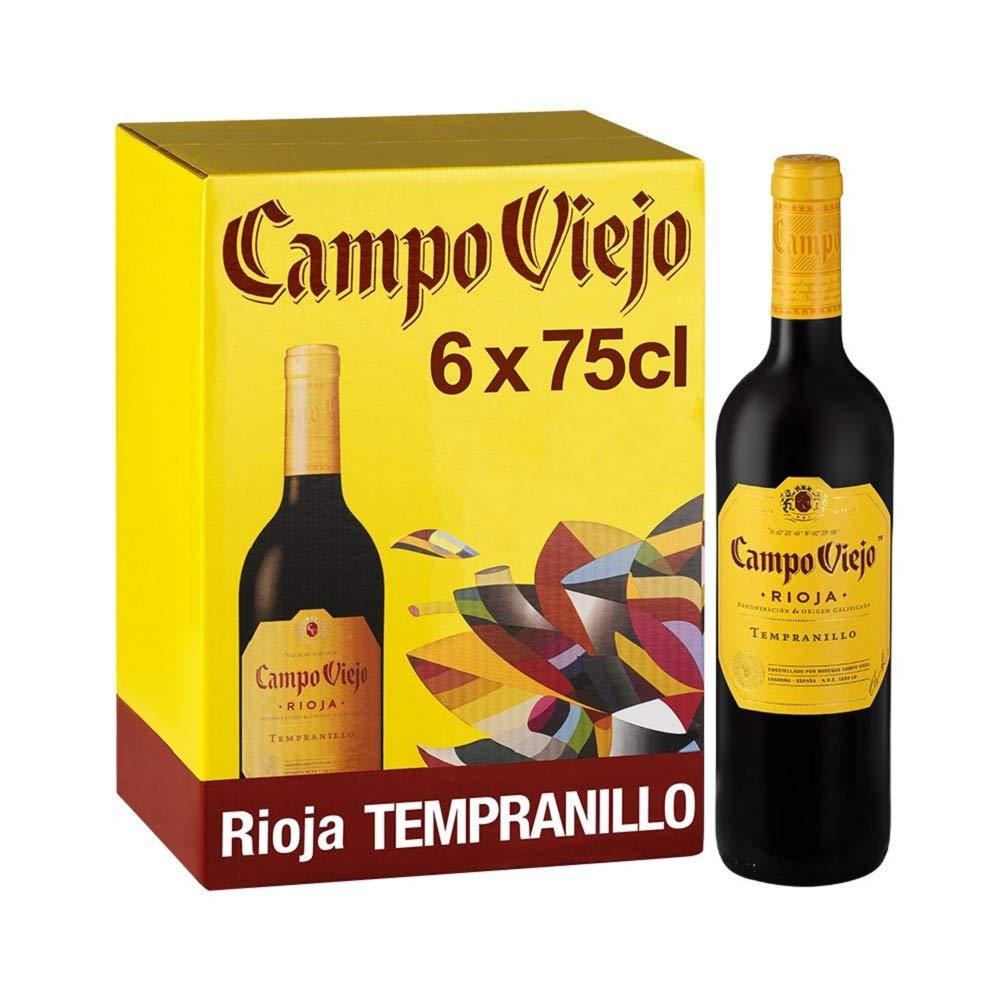 Campo Viejo Rioja Tempranillo Spanish Red Wine, 75cl (Case of 6) - £39 @ Amazon