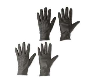 Avenue leather gloves reduced to 99p @ Aldi