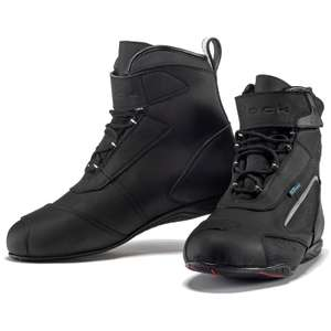 Black City Ankle Motorcycle Boots £55.99 Delivered @ Ghostbikes