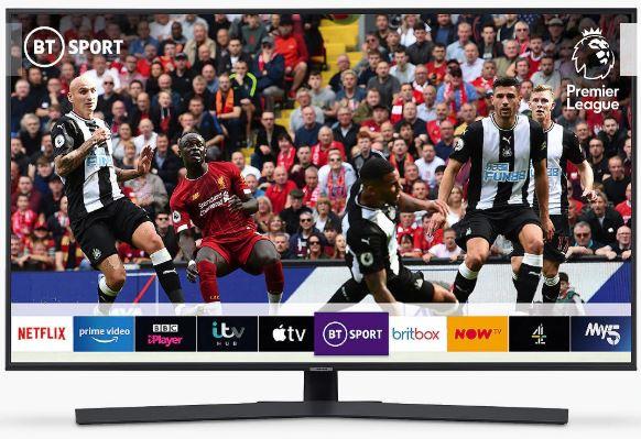 "Samsung UE50RU7400 (2019) HDR 4K Ultra HD Smart TV, 50"" £399 at John Lewis & Partners"