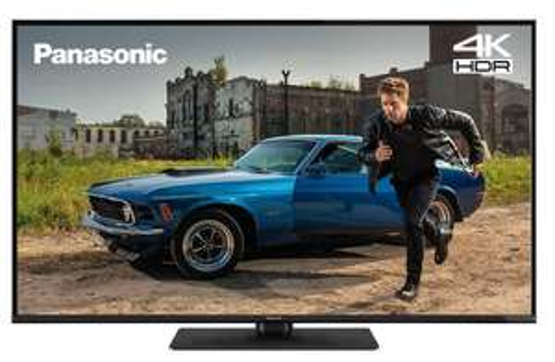 Panasonic TX-43GX550B 43 Inch SMART 4K Ultra HD HDR LED TV Freeview Play refurbished £179.99 Panasonic eBay