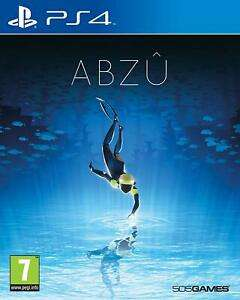 ABZU PS4 (Dutch Cover) £11.95 delivered at evergame eBay