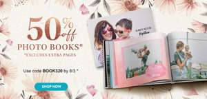 50% off Photo Books with Voucher code @ Snapfish