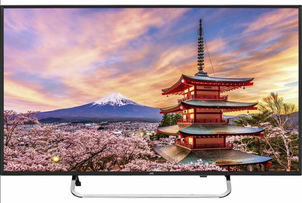 "JVC LT-40C590 40"" Full HD LED TV - Black - Currys eBay - DAMAGED BOX £158.40"