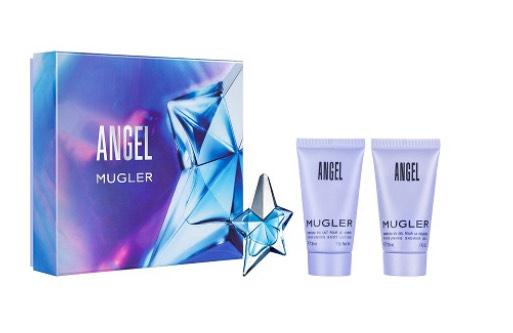 Receive a free gift when you when you buy any Mugler Angel fragrance size 25ml e.g MUGLER - 'Angel' Eau de Toilette 30ml £45 @ Debenhams