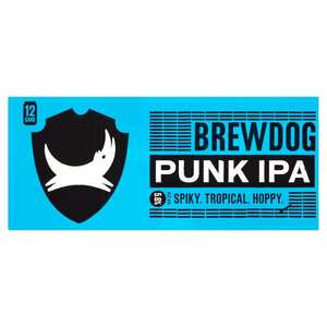 12 x 330ml cans Brewdog Punk IPA - £12 @ Morrisons