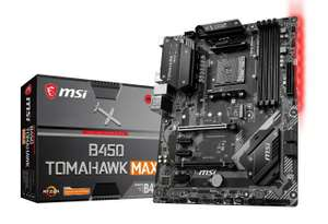 MSI B450 TOMAHAWK MAX ATX Motherboard for AMD AM4 CPUs, £94.49 at CCL/ebay with code