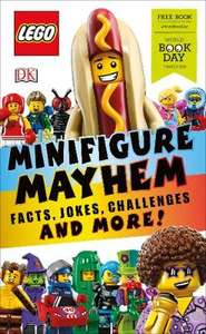 Lego Mini-Figure Mayhem Book Paperback World Book Day 2019 £1.00 or Free With World Book Day Token @ Waterstones (Free Click & Collect)
