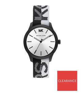 Michael Kors KORS Print Silicone Strap Watch Now £79 or £49 New credit customers @ Very