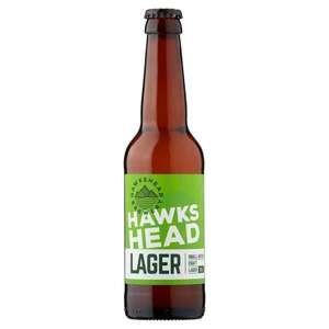 Hawkshead Lager 330ml bottle 5% Craft Beer 69p at Home Bargains Christchurch Dorset