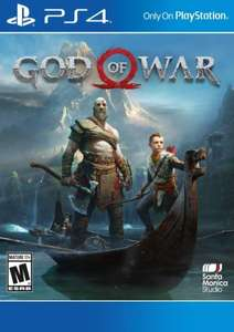 God of War PS4 (US) £4.49 at CD Keys