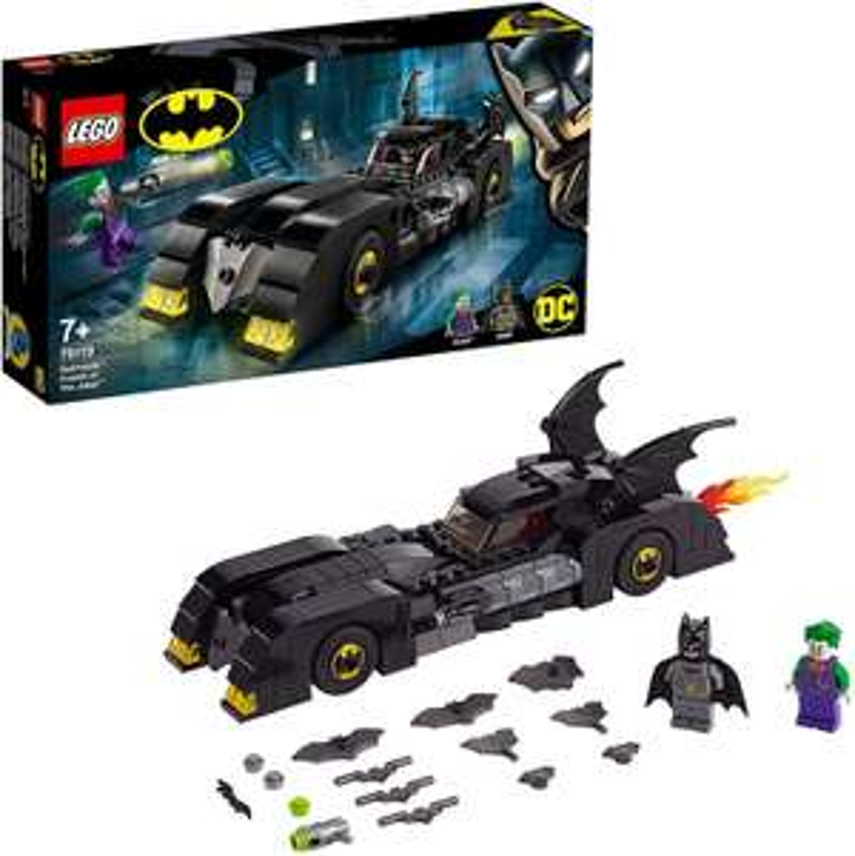 Lego 76119 Batmobile: Pursuit of The Joker Super Heroes £19.20 (Prime) + £4.49 (non Prime) at Amazon