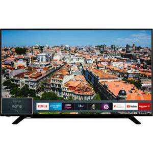 Toshiba 49U2963DB 49 Inch TV Smart 4K Ultra HD LED Freeview HD 3 HDMI Dolby £269 delivered at AO eBay