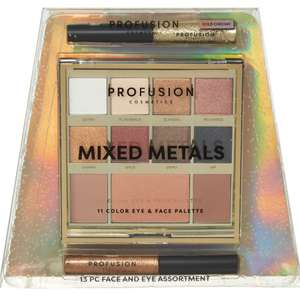 PROFUSION 13 Piece Gold Face & Eye Assortment £4.99 @ TK Maxx £1.99 click and collect