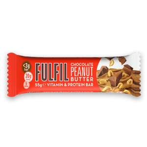 Fulfil protein bars 55g for £1.49 in B&M Boucher Road, Northern Ireland