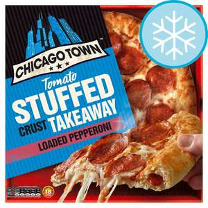 Chicago Town Tomato Stuffed Crust (Cheese / Pepperoni) - £1.99 @ Home Bargains Pilsworth