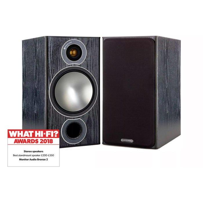 Monitor Audio Bronze 2 (Black) £209 at Richer Sounds