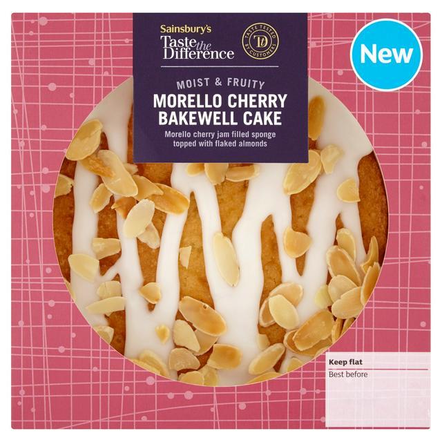 Sainsbury's Taste the Difference Cakes, Cherry Bakewell, Red Velvet, Chocolate , Lemon, Coffee & Carrot Cake £2.00 @ Sainsburys