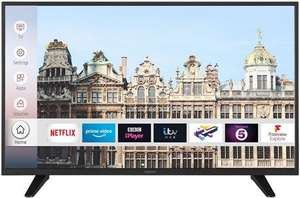 """Digihome 49UHDCNTDP 49"""" 4K Ultra HD HDR Smart TV with DTS & Freeview Play £233.10 With Code @ Box"""