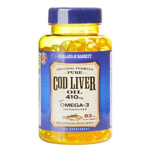 Holland & Barrett Cod Liver Oil 250 Capsules - Buy one and get another one for penny - £13 (Free Collection)