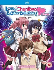 Love, Chunibyo and Other Delusions! Heart Throb - Deluxe Edition [Blu-ray]-£11.38 (+£2.99 Non Prime) @ Amazon
