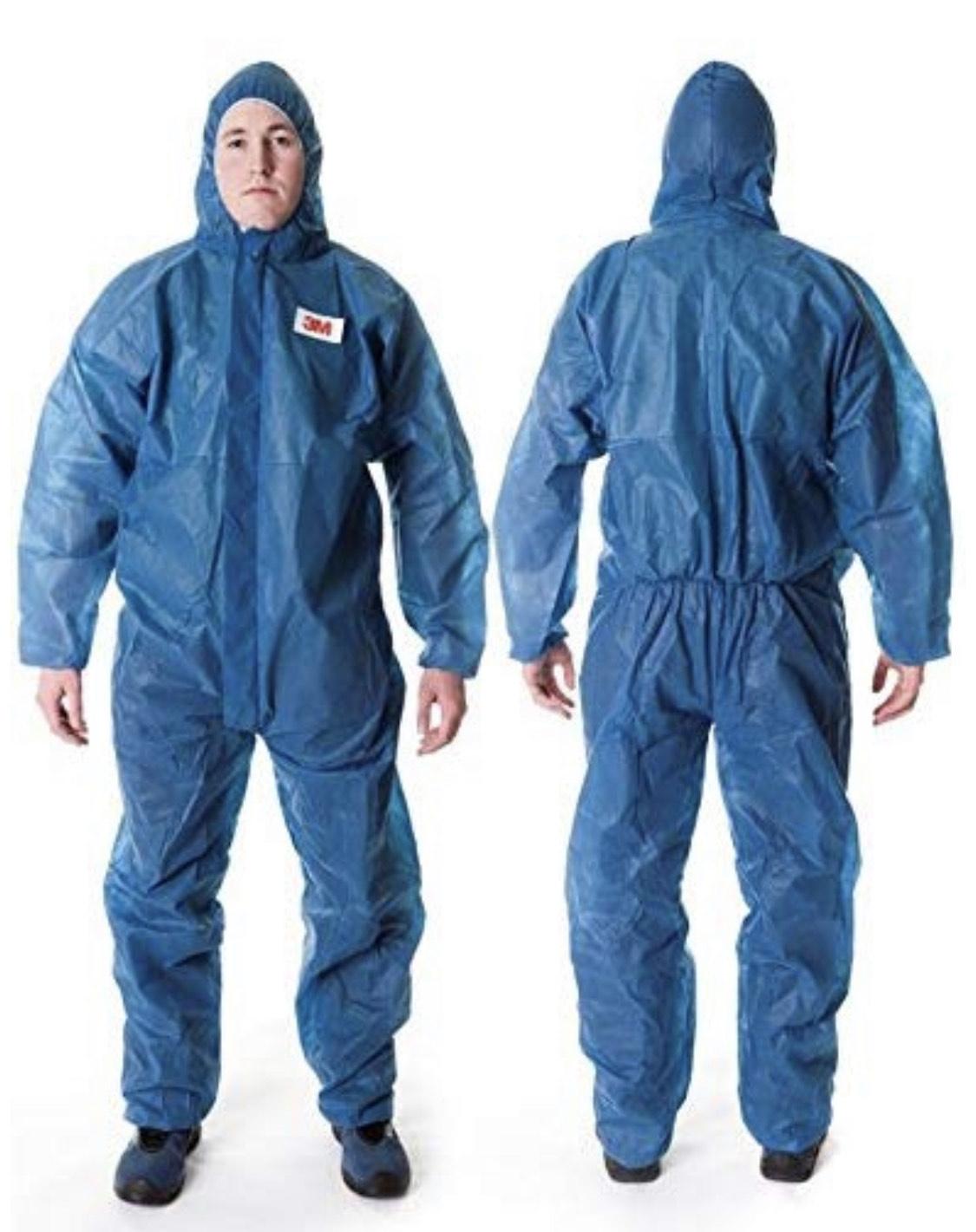 Blue 3M Coverall, Blue, 4500-B-L suit (Large) - £3.47 (+£4.49 non-Prime) @ Amazon